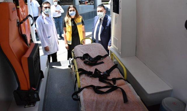 Bağlar belediyesi ambulans ve sağlık ekibi ile pandemi mücadelesinin yanında