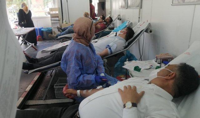 Bingöl'de kan bağışı kampanyası