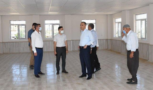 Vali Çuhadar, köylerde yapılan yatırımları inceledi
