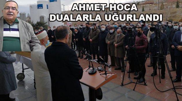 Dr. Ahmet Teyfik Ozan'a Veda