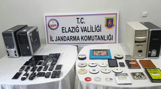 ELAZIĞ MERKEZLİ 4 İLDE PKK/KCK OPERASYONU: 20 GÖZALTI