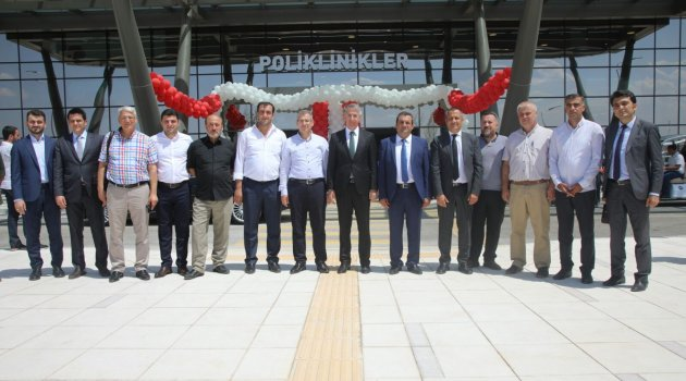 Elazığ Şehir Hastanesi Hizmet Vermeye Başladı