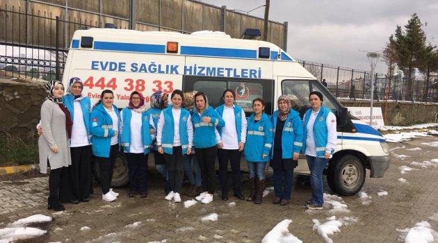 Evde Sağlık Hizmetlerinde Türkiye 5.si Oldu