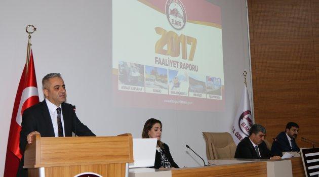 İL ÖZEL İDARESİ 2017 FAALİYET RAPORU KABUL EDİLDİ