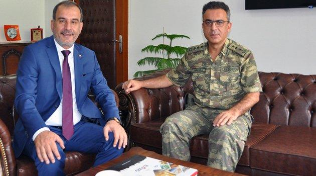 ALBAY ÇAKIRCIOĞLU'NA 'HAYIRLI OLSUN' ZİYARETİ