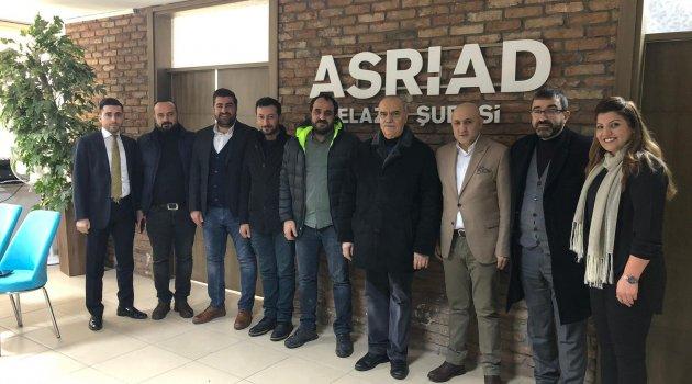 Başkan Erdem'den Asriad'a Ziyaret