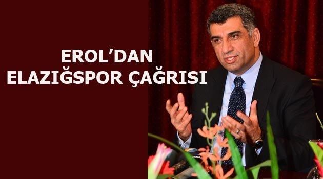 """CHP Milletvekili Erol """"Elazığspor'a Sahip Çıkmalıyız"""""""