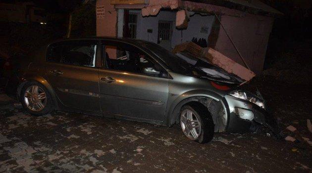 Elazığ'da Trafik Kazası:4 Yaralı