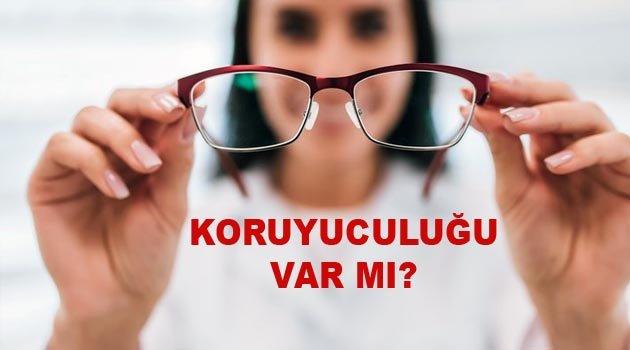 Gözlük ve Lens Korona Virüsünden Koruyor mu?