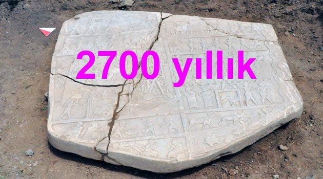 HARPUT'TA 2700 YILLIK TARİHİ ESER TESADÜFEN BULUNDU