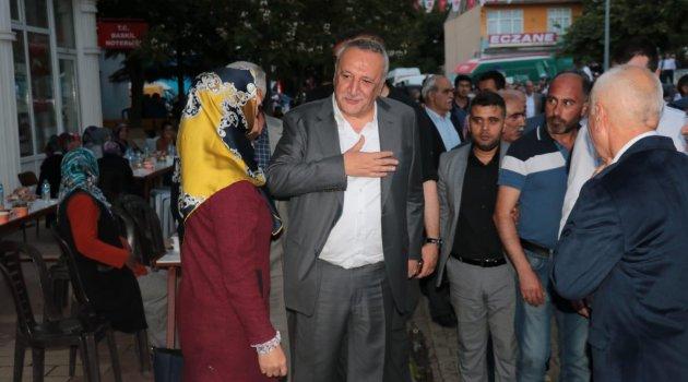Mehmet Ağar Baskil'de İftara Katıldı