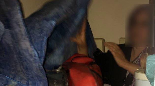 Merdiven Basamakları Altında Yakalandı