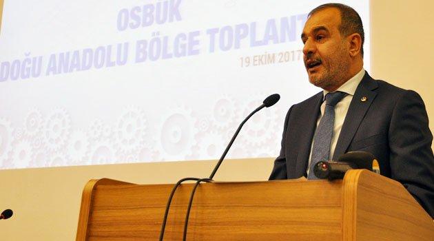 OSBÜK BÖLGE TOPLANTISI ELAZIĞ'DA YAPILDI