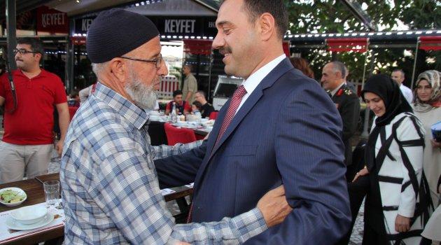 Vali Kaldırım 15 Temmuz Şehit Aileleri ve Gazileri ile Biraraya Geldi