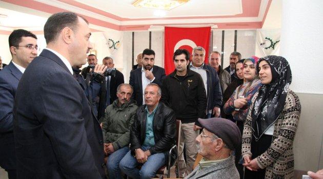 VALİ KALDIRIM'DAN KARAKOÇAN İLÇESİNE ZİYARET