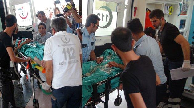 YARALI POLİSLER HELİKOPTERLE ELAZIĞ'A GETİRİLDİ
