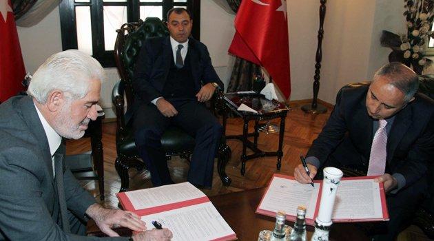 OKUL-CAMİ BULUŞMASI PROJESİ' PROTOKOLÜ İMZALANDI
