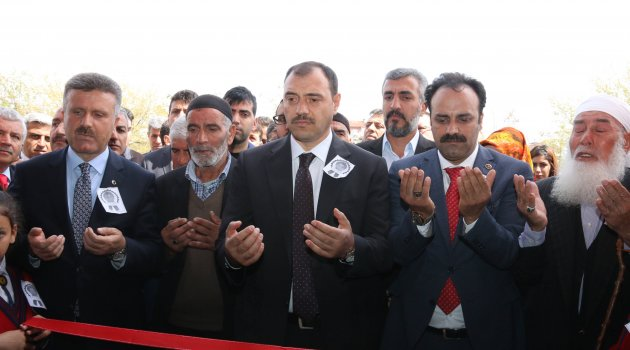 ŞEHİT POLİS VEDAT KILINÇARSLAN'IN ADI OKUDUĞU OKULA VERİLDİ