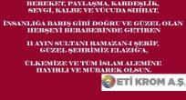 RAMAZAN-I ŞERİF, MESAJI