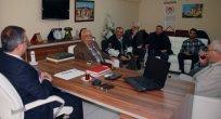 ALİ ÇOBAN'DAN EBMC'YE ZİYARET