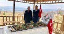 Cumhuriyet Halk Partisi Elazığ Milletvekili Gürsel Erol, Şehit Polis Memuru Fethi Sekin'i kabri başında ziyaret etti.