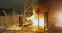 Elazığ'da Korkutan Yangınlar