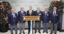 Gazilerden, Başkan Yanılmaz'a Ziyaret