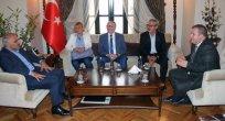 İSTANBUL'DAN GELEN MUHTARLARDAN ELAZIĞ HALKINA DAYANIŞMA ZİYARETİ