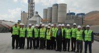 Seza Çimento Fabrikası,  Esnaf Oda Başkanları İle Ticaret İl Müdürü'nü Ağırladı