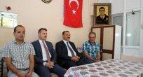Vali Kaldırım'dan Ağın'da Şehit Ailesine ve Köylere Ziyaret